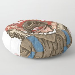 Kamikaze Floor Pillow