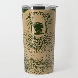 Kodiak Bear Travel Mug