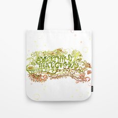 Perfection but a little moment - Sonnet 15 Quote Art Tote Bag