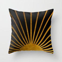 Magical Sunlight Throw Pillow