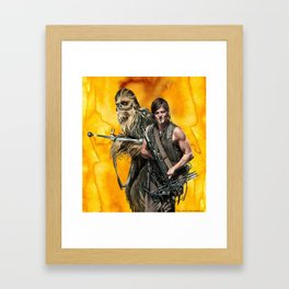 Walking Star Dead 2 Framed Art Print