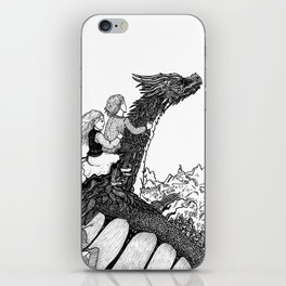 Dragonborn kids iPhone Skin