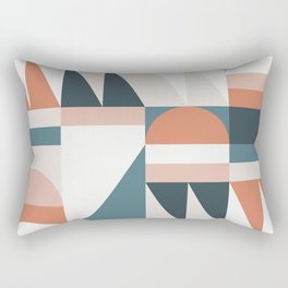 Cirque 06 Abstract Geometric Rectangular Pillow