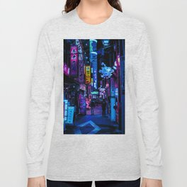 Tokyo's Blade Runner Vibes Long Sleeve T-shirt