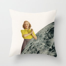 He Gave Her The Moon Throw Pillow
