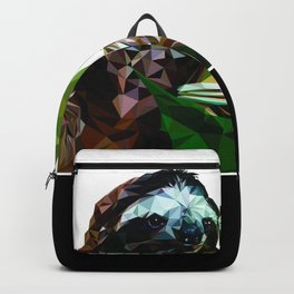 Sloth Low Poly Backpack