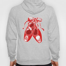 Red Ballet Shoes Hoody