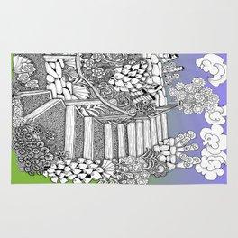 Zentangle Stairway to Heaven Rug