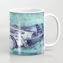 Back To The Future Delorean Coffee Mug