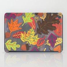 Autumn Leaves Pattern iPad Case