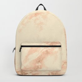 Bronze marble texture Backpack