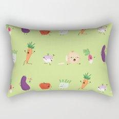 Veggie Panic Rectangular Pillow