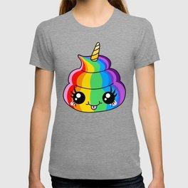Unicorn Rainbow Poop T-shirt