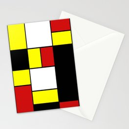 Abstract #378 Mondriaan Stationery Cards