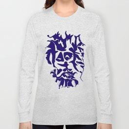 face1 blue Long Sleeve T-shirt