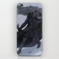 skyrim iPhone & iPod Skins featuring Skyrim - Argonian Nightingale by DJ Coulz