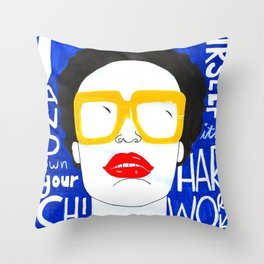 Accept Yourself Throw Pillow