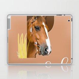 Paard - dierenalfabet Laptop & iPad Skin