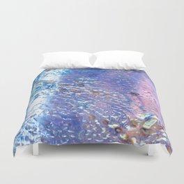 Raindrops on Glass Duvet Cover