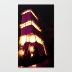 Violently Purple Canvas Print