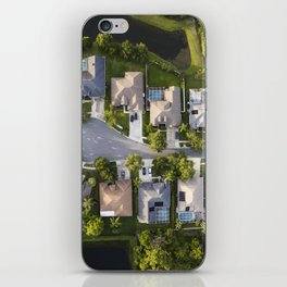 Somewhere Down South  |  Drone Photograpy iPhone Skin