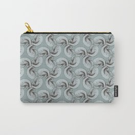 Tessellating monster pattern Carry-All Pouch