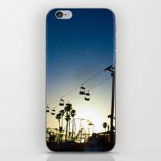 Sunset at the Boardwalk iPhone & iPod Skin