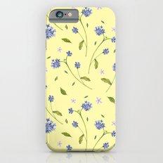 Botanical Print (Hound's Tongue)  iPhone 6s Slim Case