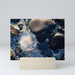 Tidal Jellyfish Mini Art Print