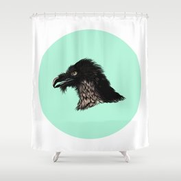 The Vulture. Shower Curtain