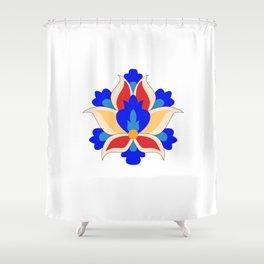 Eslimi Flower Shower Curtain