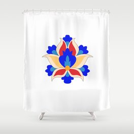 Eslimi Flower Shower Curtain