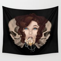 milk Wall Tapestries featuring Milk & Honey by Symbiosis