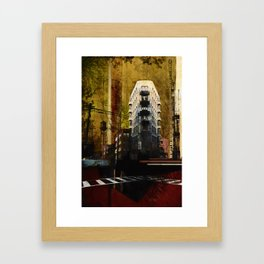 Uprooted Framed Art Print