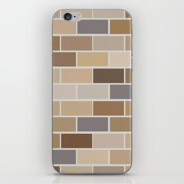 Kinda Brickish iPhone Skin