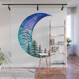 Moon Star Wall Mural