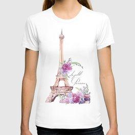 Eiffel Tower Vintage Paris France T-shirt