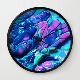 Digital Abstractaction 20 Wall Clock