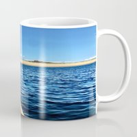cape cod Mugs featuring Provincetown, Cape Cod, MA by molliemacks