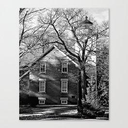 Shadows 40 Mile Pt Lighthouse Canvas Print
