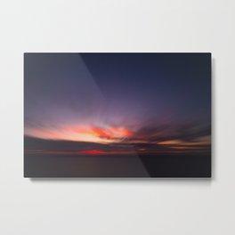 Malibu Sunrise B3 - California Ocean Sunrise Metal Print