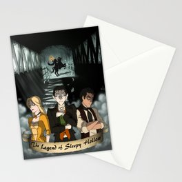 Poster: The Legend of Sleepy Hollow Stationery Cards