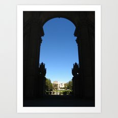 Palace of Fine Arts II Art Print