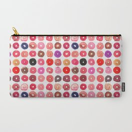 Lipstick Donuts Carry-All Pouch