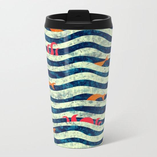 Sea roommate Metal Travel Mug