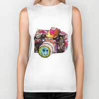 summer Biker Tanks featuring Picture This by Bianca Green
