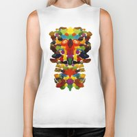 totem Biker Tanks featuring totem! by gasponce