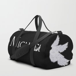 Archangel Michael with Feather Duffle Bag