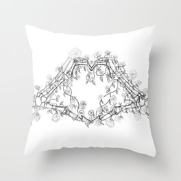 Our Love is Forever Throw Pillow