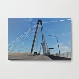 Arthur Ravenel Jr. Bridge Metal Print